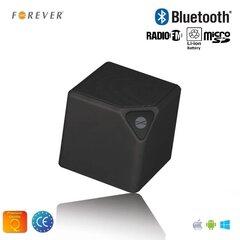 Forever BS-130 Bluetooth Bezvadu Skaļrunis ar Micro SD / FM Radio/Aux/Telefona Zvana Funkciju Melna