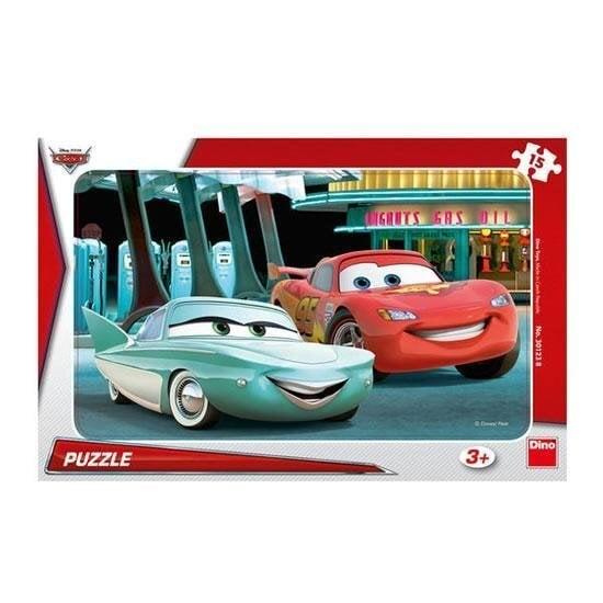 "Puzle DINO ""Cars at the petrol station"" 15 det. 301238"