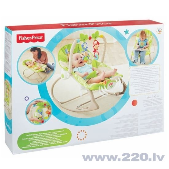 Šūpuļkrēsliņš Fisher Price Friends, CBF52 cena
