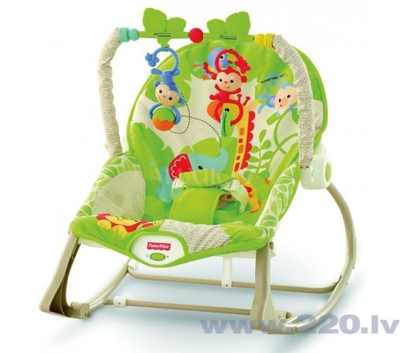 Šūpuļkrēsliņš Fisher Price Friends, CBF52