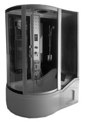 Паровая баня KM810 (правосторонняя) цена и информация | Гидромассажные душевые кабины | 220.lv