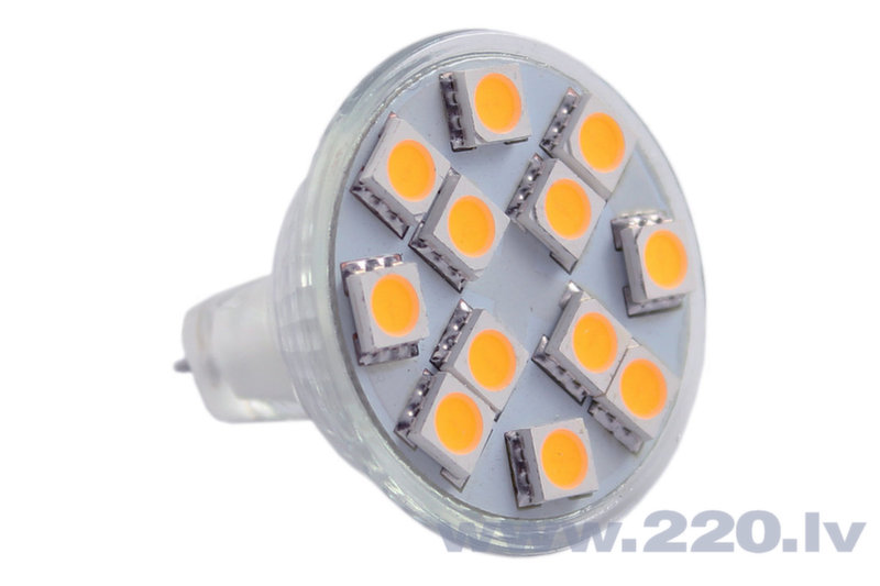 LED Spuldze MR11 2W 12V