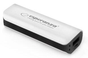 Powerbank Esperanza 2200mAh (Черного цвета) цена и информация | Внешние зарядные аккумуляторы (Power bank) | 220.lv