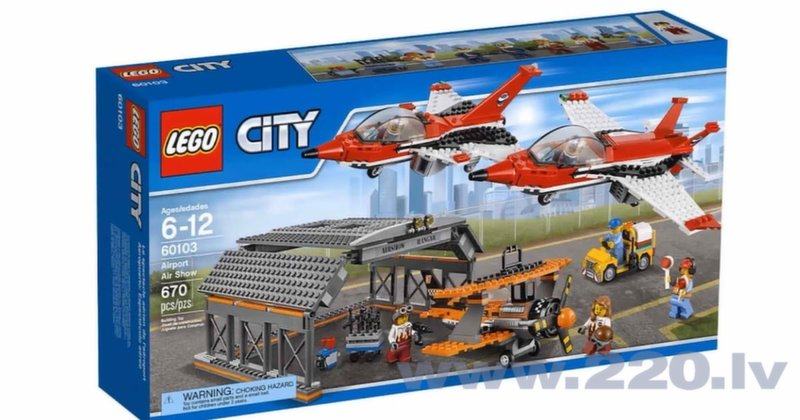 Конструктор LEGO™ City Airport Air Show 60103