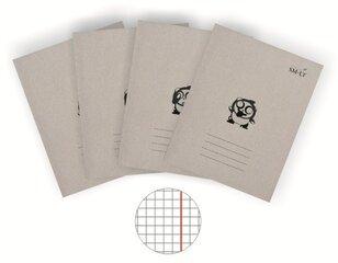 Burtnīca 12 lapas, rūtiņu cena un informācija | Kancelejas preces | 220.lv