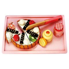 Koka rotaļu torte ar piedērumiem Bino cena un informācija | Rotaļlietas meitenēm | 220.lv