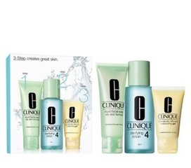Komplekts Clinique 3 Step Skin Care System 4