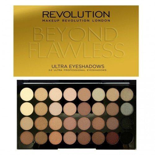 Acu ēnu komplekts Makeup Revolution London Ultra 32 Shade Beyond Flawless 16 g