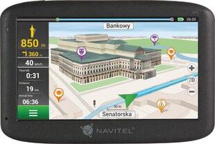 NAVIGATION NAVITEL F150 5'' PL+CZE+SVK+BLR+UKR (LIFEIME MAP) cena un informācija | Auto GPS | 220.lv
