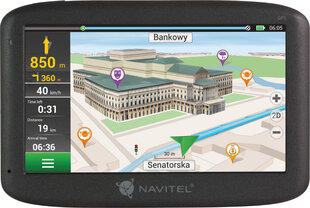 NAVIGATION NAVITEL F150 5'' PL+CZE+SVK+BLR+UKR (LIFEIME MAP) цена и информация | GPS навигаторы | 220.lv