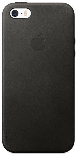 Чехол-крышка для телефона Apple iPhone SE Leather Case Black