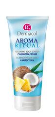 Ķermeņa losjons Dermacol Aroma Ritual Caribbean Dream 200 ml cena un informācija | Krēmi un losjoni | 220.lv