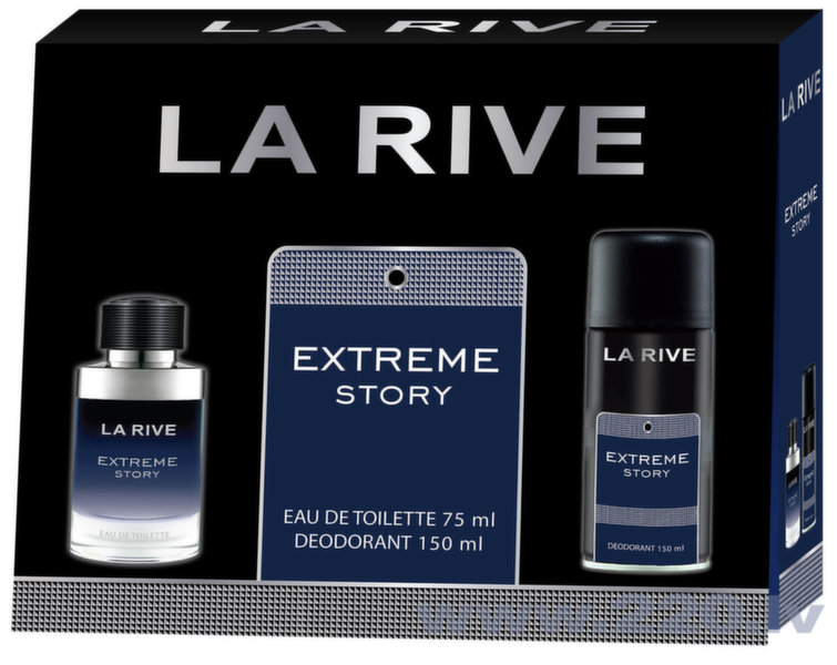Komplekts La Rive Extreme Story: edt 75 ml + dezodorants 150 ml