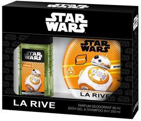 Комплект La Rive Star Wars Droid: edt 50 мл + гель для душа-шампунь 250 мл
