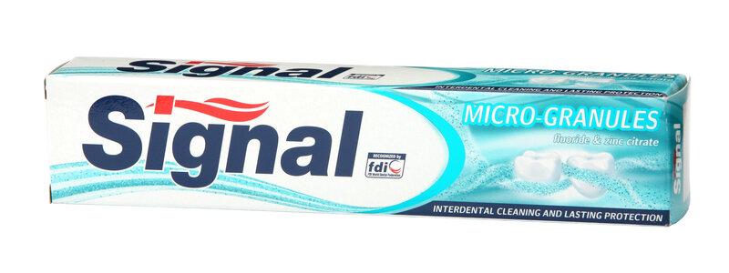 Zobu pasta Signal mikro granulas 75ml