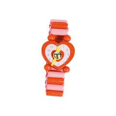 Bērnu koka pulkstenis Bino cena un informācija | Lomu spēles | 220.lv