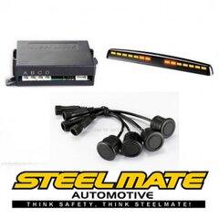 Atmuguriskās parkošanās sistēma STEELMATE PTS400M5 ar M5 displeju