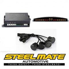 Система парковки STEELMATE PTS400M7 с M7 дисплеем цена и информация   Системы парковки   220.lv
