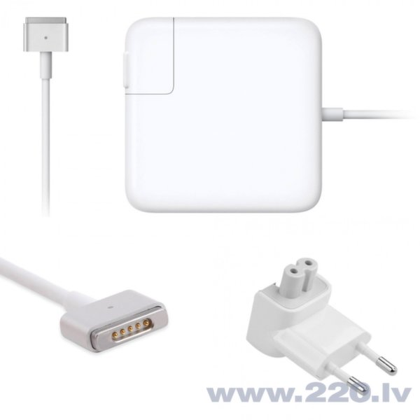 "CP Apple Magsafe 2 85W Tīkla lādētājs MacBook Pro Retina 15"" Analog A1398, A1424, MD506Z/A (OEM)"