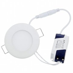 LEDlife LED paneli, 6W (silti balta)