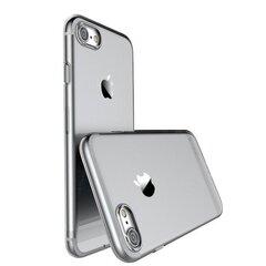 Usams Primary IP7YS02 Ultra plāns 0.3 mm maks - apvalks priekš Apple iPhone 7 (4.7 collas) Caurspīdīgi- melns