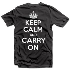 "T- krekls ""KEEP CALM AND CARRY ON"""