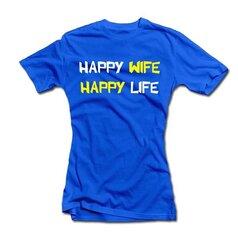 """Женская рубашка """"Happy wife"""""""