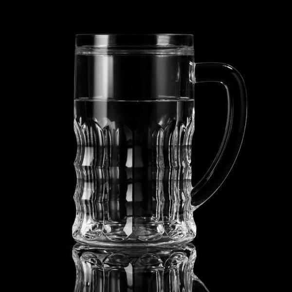 Auksta alus krūze no akrila, 600 ml.