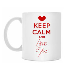 "Кружка ""KEEP Calm and I love You"""