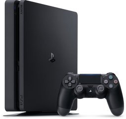 Sony Playstation 4 Slim 500GB Black (Melna)