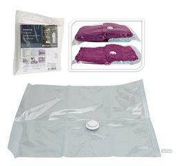 Pakaramais vakuuma maiss apģērbam, 50 x 60 cm cena un informācija | Pakaramie un apģērbu maisi | 220.lv