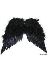 Melnie spārni