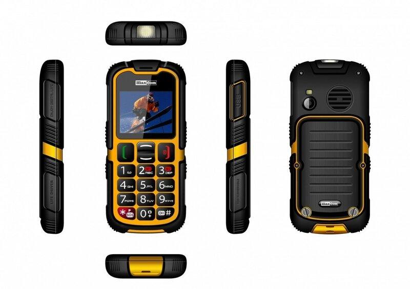 Maxcom MM910 Dual Black ENG atsauksme