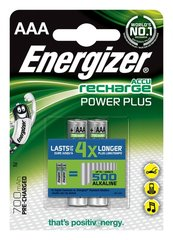 Baterijas ENERGIZER Power Plus, AAA, HR03, 1,2 V, 700mAh, 2 gab.