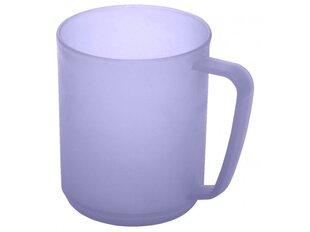 Plast Team пластиковая кружка, 350 мл, фиолетовая