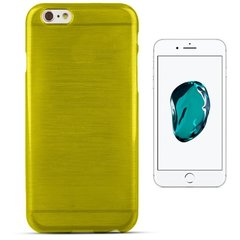Forcell Jelly Brush Perlamutra telefona silikona apvalks Apple iPhone 7 Plus (5.5inch) Zaļš
