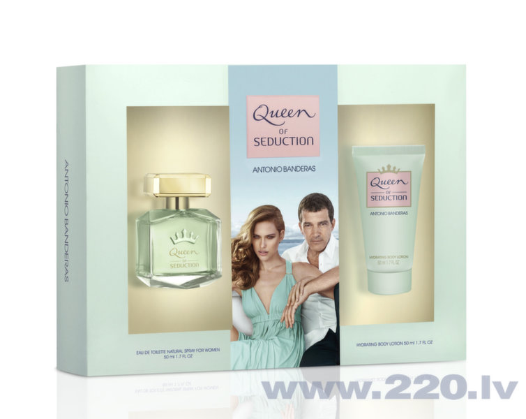 Комплект Antonio Banderas Queen of Seduction:edt 50 мл + лосьон для тела 50 мл