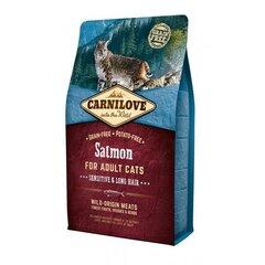 Sausā barība kaķiem Carni Love ar lasi 400 g