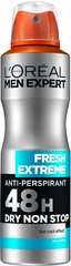 Dezodorants L´Oreal Paris Men Expert Fresh Extreme Dry Non Stop 150 ml