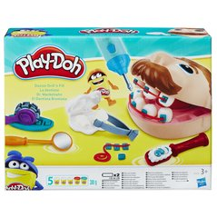 Plastilīna komplekts Play Doh Doctor Drill 'n Fill