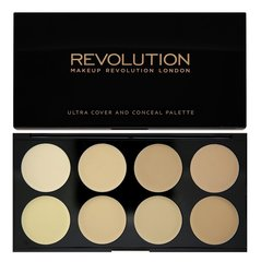 Acu ēnas Makeup Revolution London Cover & Conceal 10 g