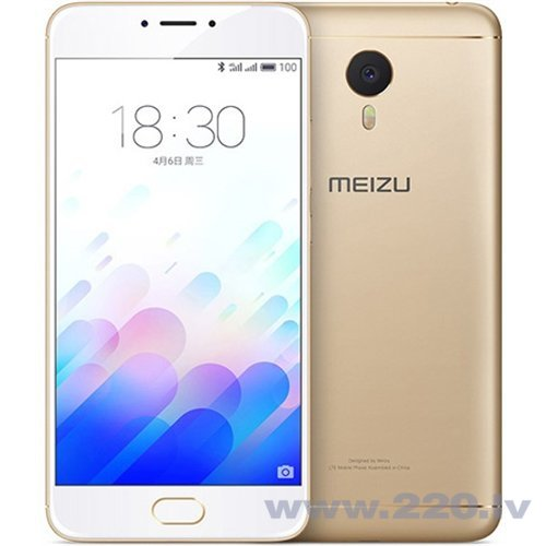 Meizu M3 Note 16GB Dual LTE Gold
