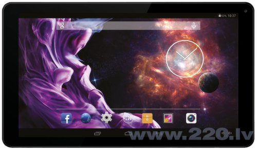 "GRAND HD Quad core 10.1"" WiFi Melns"