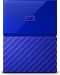 """WD My Passport 2.5"""" 4 TB, USB 3.0, Zils"""