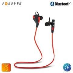 Austiņas Forever BSH-100 Active Sport, melni/sarkani