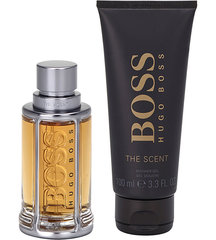 Komplekts Hugo Boss Boss The Scent: edt 100 ml + dušas želeja 100 ml