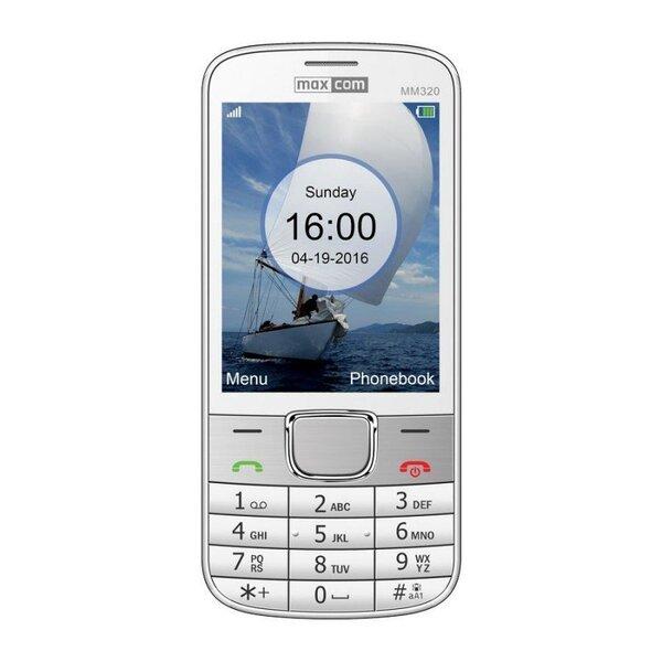 MAXCOM MM320 DUAL White (Белый)