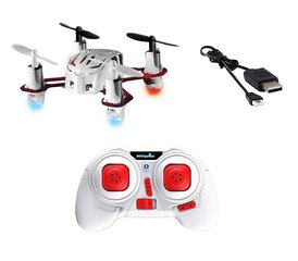 "Modelis Mini Quadrocopter Revell ""Nano Quad"" balts/sarkans R/C, 23970"
