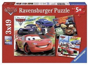 Пазл Ravensburger Cars, 3x49 деталей