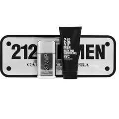 Komplekts Carolina Herrera 212 VIP Men: edt 50 ml + dušas želeja 100 ml